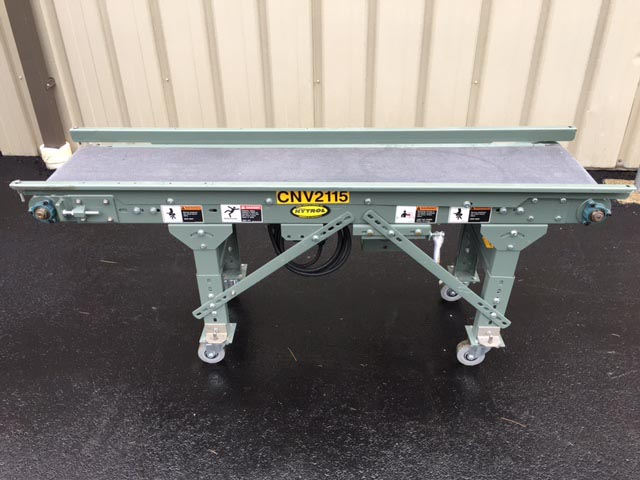 Hytrol 72 in Long Powered Belt Case Conveyor